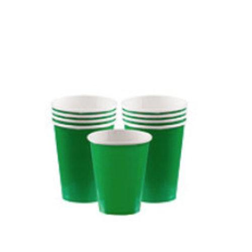 Groene koffie bekers