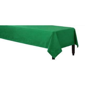 Groen tafelkleed papier