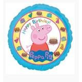 Peppa Pig Happy birthday ballon