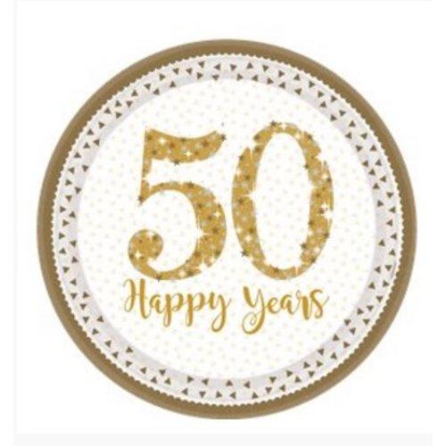 50 jaar huwelijk borden