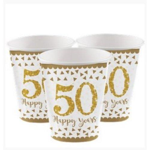 50 jaar huwelijk bekers