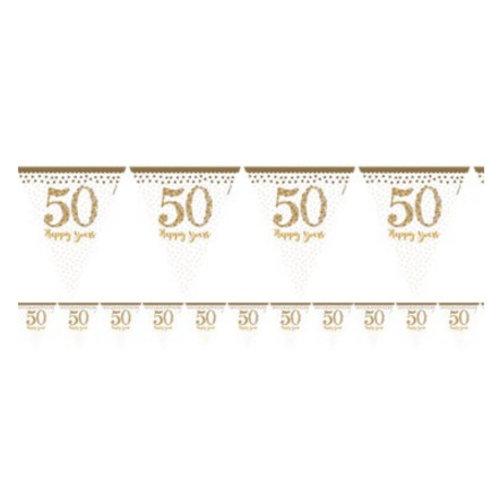 50 jaar huwelijk vlaggetjes