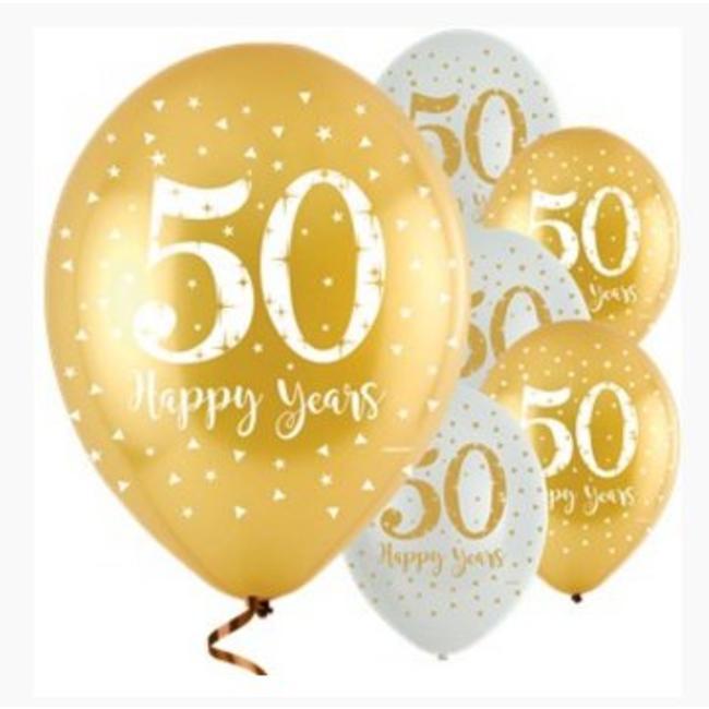 Uitzonderlijk 50 jaar getrouwd ballonnen | Feestwinkel J-style-deco - J-style &XU85