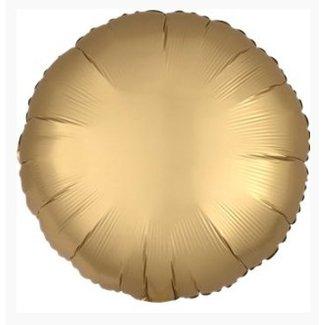 Satijn goud ballon