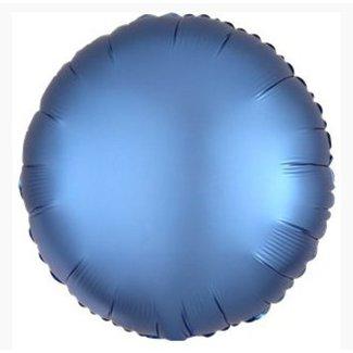 Azure blauw folie ballon