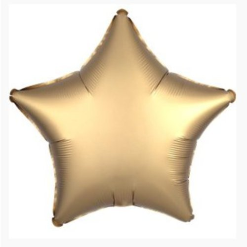 Ster ballon mat goud