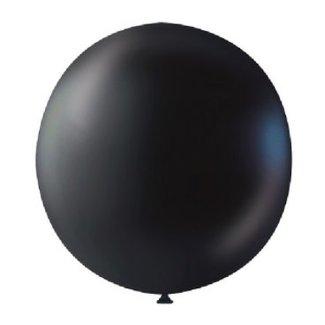 Gender reveal confetti ballon zwart
