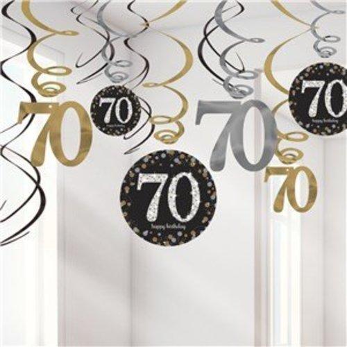 70 jaar feestartikelen versiering j style j style deco online feestwinkel - Kamerjongen jaar deco ...