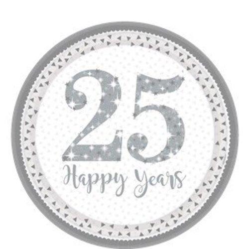 25 Jaar getrouwd borden