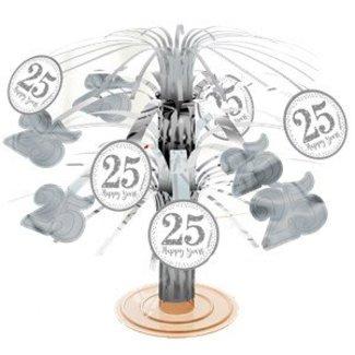 25 jaar getrouwd tafel decoratie