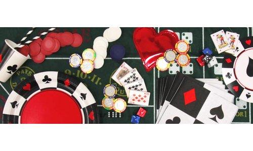 Casino feestartikelen