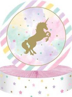 Unicorn tafel versiering
