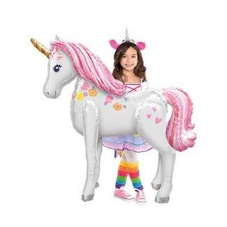 Unicorn pastel XL ballon