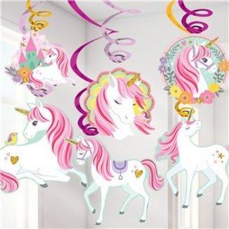 Unicorn mint swirl slingers