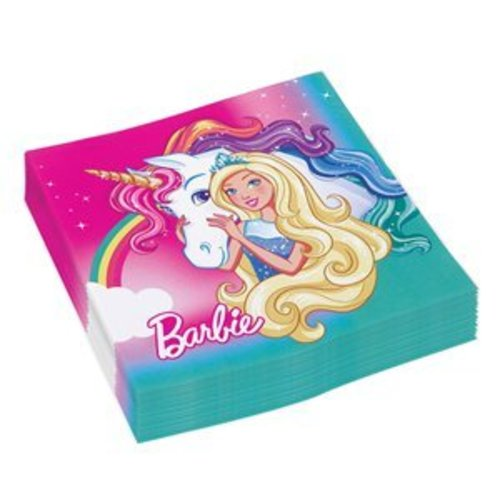 Barbie servetten