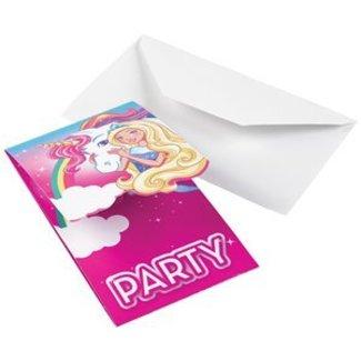 Barbie uitnodigingen
