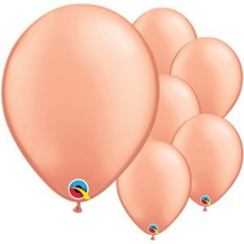 Rose goud ballonnen XL set