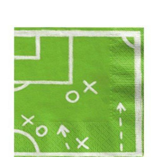 Voetbal veld servetten