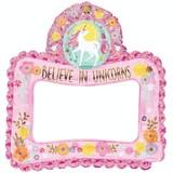 Unicorn foto frame roze