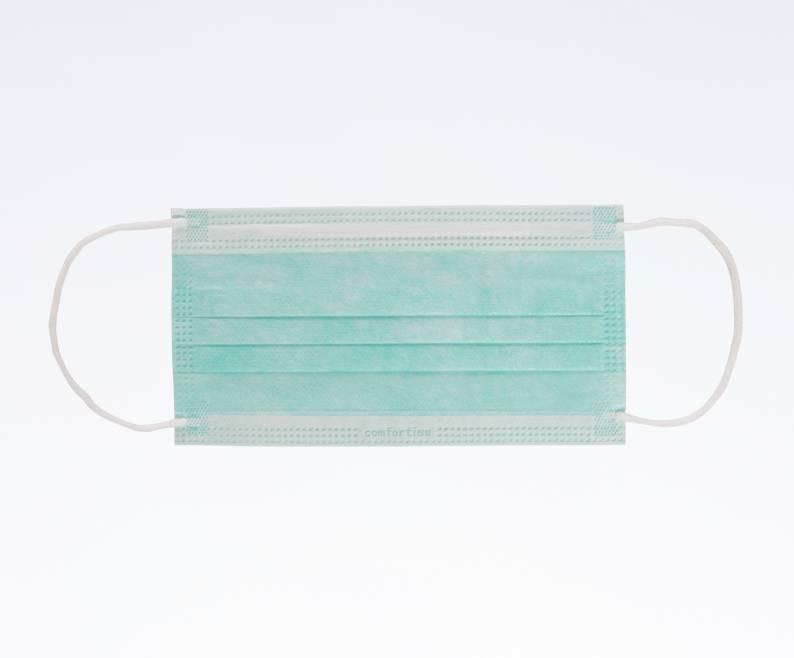 Mondmasker elastiek groen