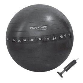Tunturi Zitbal / Gymbal Ø 65 cm Zwart Anti Burst