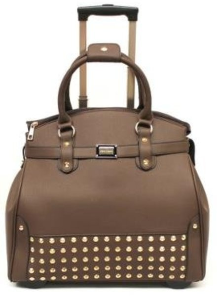 Olivia Lauren TROLLEY Clout Chocolade