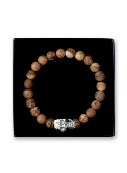 SELFMADE Bracelets SB Skull Silver