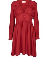 Pearlie Dress Cardinal