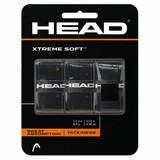 HEAD XTREME SOFT ZWART 3ST OVERGRIP