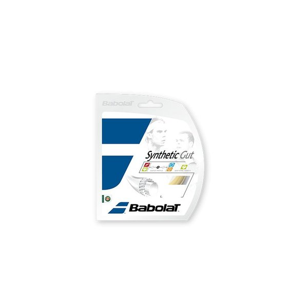 BABOLAT SYNTHETIC GUT ZWART 1.30 200M