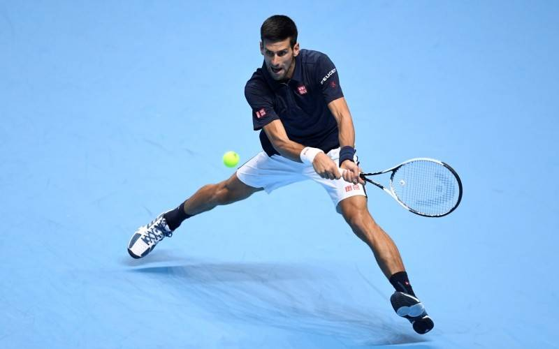 Djokovic wint van Dominic Thiem ATP Finals London