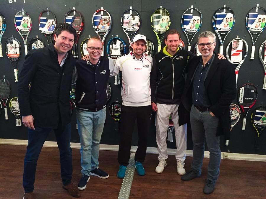 Lightspeed op bezoek bij TennisFirst.nl