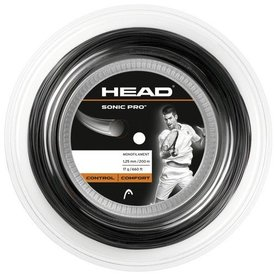 HEAD SONIC PRO ZWART 200M