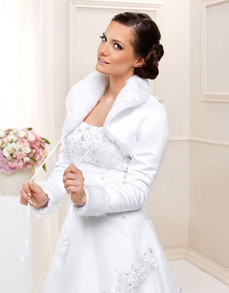 Brautjacke,Braut Bolero, Felljacke,Winterbolero,Hochzeit,Stola ...
