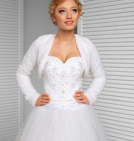 Brautjacke Braut Bolero Aus Spitze Felljacke Hochzeit Warm