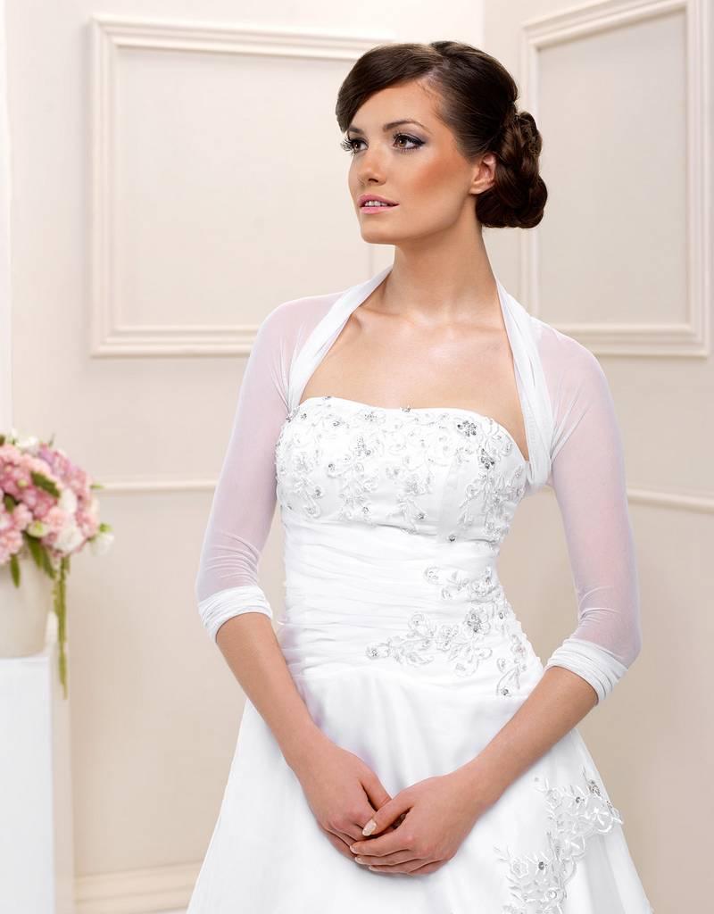 Bolero aus Stretch Tüll für Ihre Hochzeit. Brautbolero zum ...