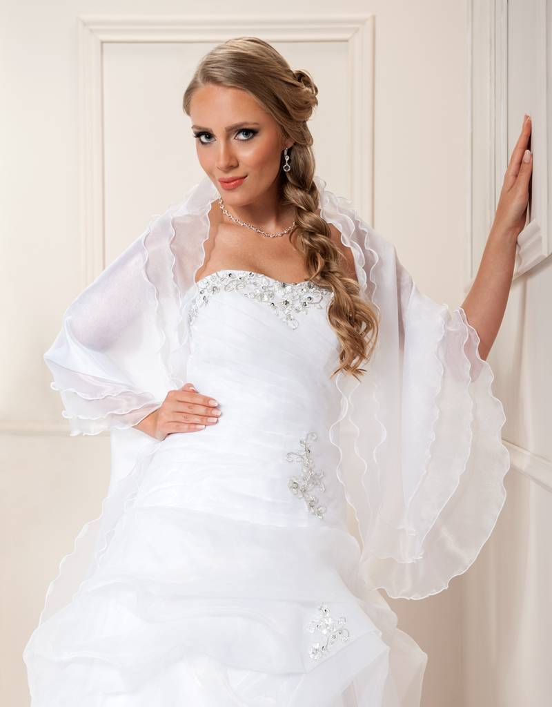 Brautstola, Cape, Umhang für Ihre Schulter ist perfekt für die ...