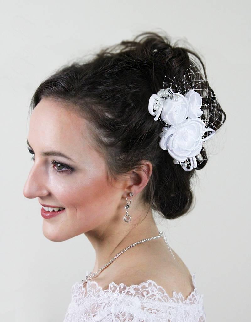 Brauthaarschmuck Haarblume Fur Hochzeitsfrisur Brautkontor De