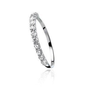 zinzi zilveren Zinzi aanschuif ring zir827
