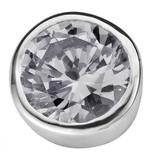 Enchanted Jewels Enchanted Jewels zirkonia bedel kristalkleurig rond