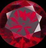 MelanO Colours Melano cameleon briljant steentje dark red