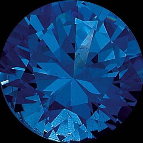 MelanO Colours Melano cameleon briljant steentje blauw