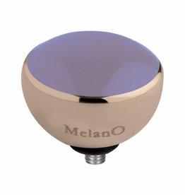Melano Melano Twisted setting resin lavender rose