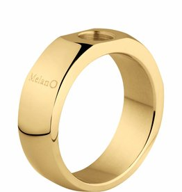 MelanO Colours Melano Sturdy ring goud 6mm