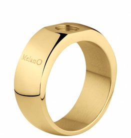 MelanO Colours Melano Sturdy ring goud 8mm