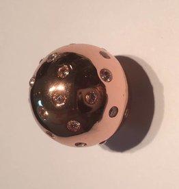 Sparkling Jewels Sparkling Jewels bal pave rose 20mm