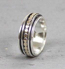Jéh Jewels Jéh Jewels Ring 19222  met losse ringetjes en platte balletjes