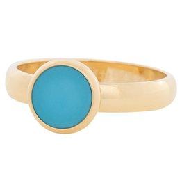 ixxxi Jewelry iXXXi ring  Matt Aqua gold R4313-1