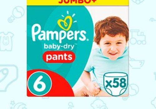 Pampers Pants Luierbroekjes