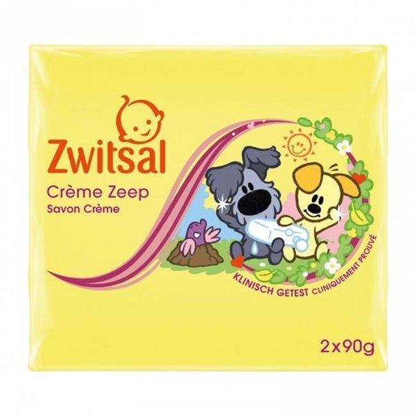 Zwitsal Zwitsal Zeep  Woezel & Pip - 2 X 90 gram